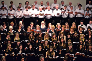 College Choir perform Messiah