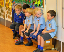 Year 1 in drama workshop with Perform
