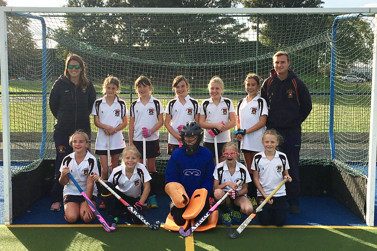 U11 girls hockey at iaps framlingham