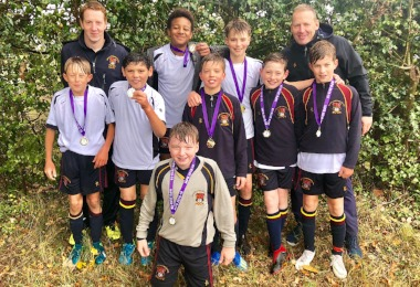 U13 Footballers Score Place in National Finals