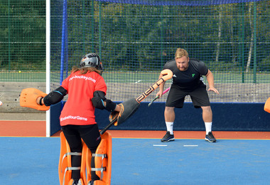 Fortitude Hockey goalie session for Prep School