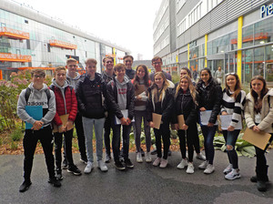 Sixth Form Geography group at Olympic Stadium