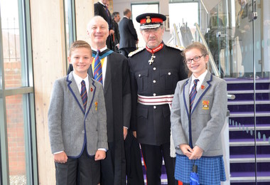 Visit by the Lord Lieutenant of Hertfordshire