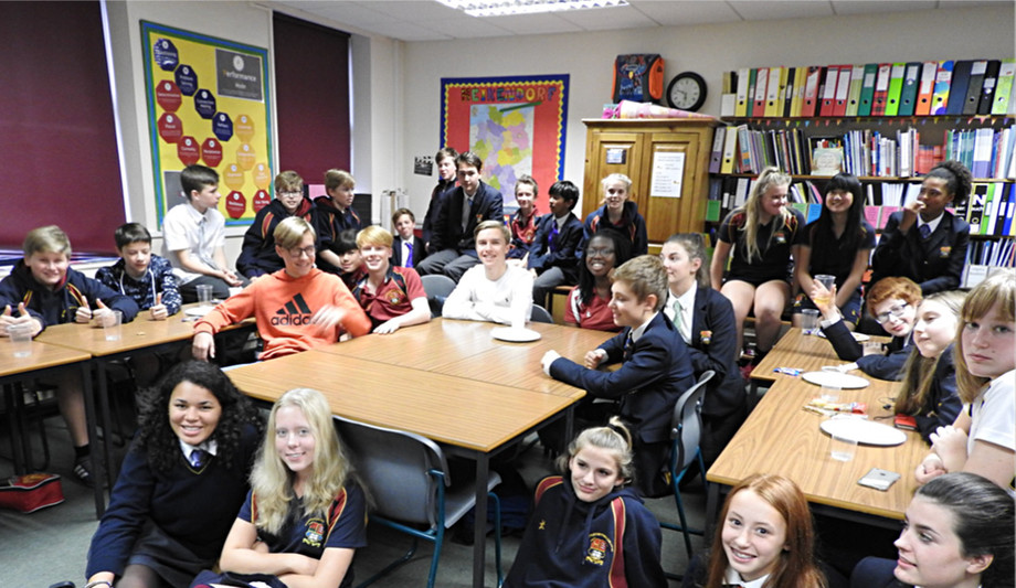 German Club in Bishop's Stortford College Senior School
