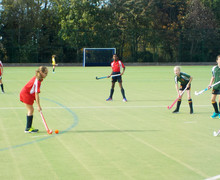 Grimwade playing Monk Jones Prep School House Hockey