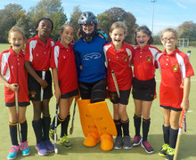 Monk Jones team at Prep School House Hockey 2018