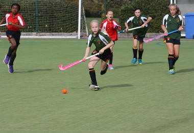 Thrilling Afternoon of Girls' House Hockey