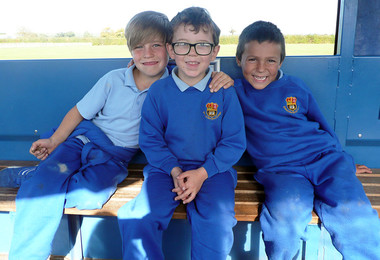 Yr 2 boys at barleylands