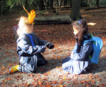 Reception girls in thorndon wood