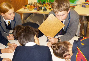 Upper third pupils work together on amazon project
