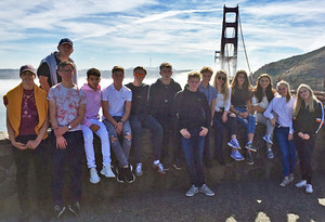 Students media trip to la san francisco 2018