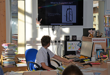 Form 2 presentation of Curiosity Club project