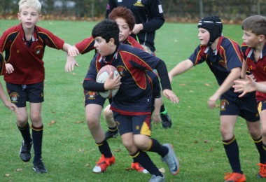 Forms 1 & 2 Try Hard for House Rugby