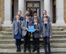 Prefects at Prep School Remembrance Service