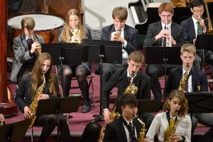 Senior School Concert in Mem Hall November 2018