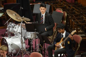 Drummer in Senior School Concert 2018