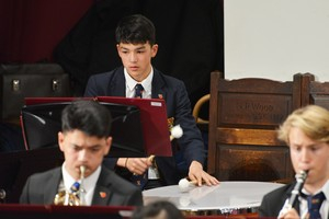 Senior School Concert performed in Mem Hall Nov 18