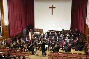 Senior School Orchestra in Mem Hall November 2018