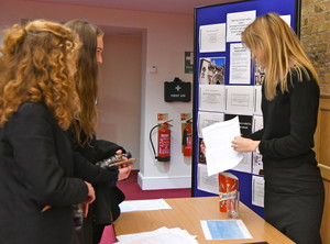Sixth Form Students present their EPQ projects 2018