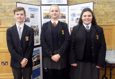 College Pupils Speak Up in Rotary Competition