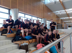 College swimmers ready for gala in croatia