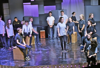 Actors perform Not That Different in Leo Price Theatre