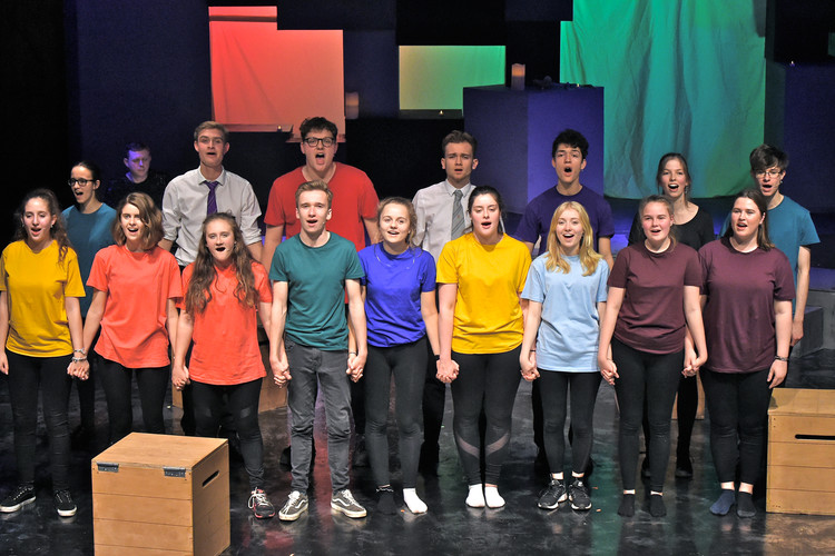 Curtain call in senior school play not that different