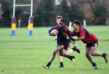 Thrilling Senior House Rugby in the Prep School