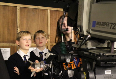 Technical tour of Question Time set for Prep School