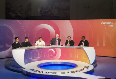 Sixth Form sit on Question Time panel with David Dimbleby