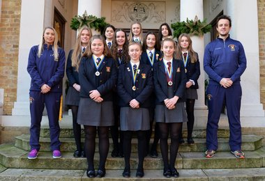 U16 Girls' Hockey Team Ready for National Finals