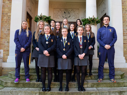 U16 Girls Hockey team heading to National Finals