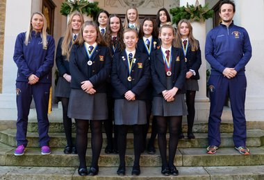 U16 Girls Hockey Team Are Joint 5th in the Country