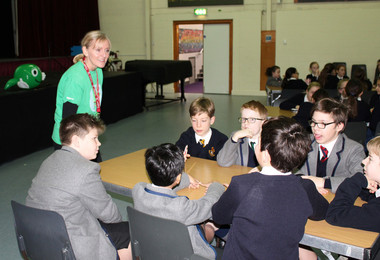 Nspcc workshops with prep school pupils