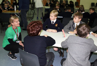 Prep school workshops with nspcc