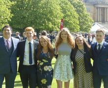 Gold DofE awards ceremony at Buckingham Palace in 2018