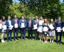 OS assemble for Gold DofE award ceremony