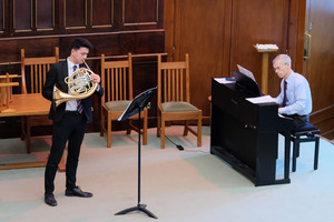 French Horn & Violin Recital in URC January 2019