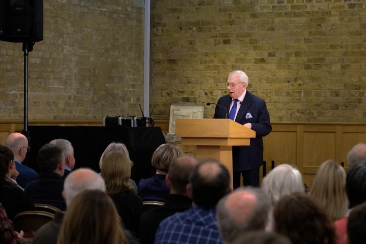 David Starkey in FLT for Festival of Literature 2019