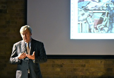 Andrew Graham-Dixon discussing Paul Nash at Festival of Literature