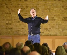 Festival of Literature 2019 with Robin Ince