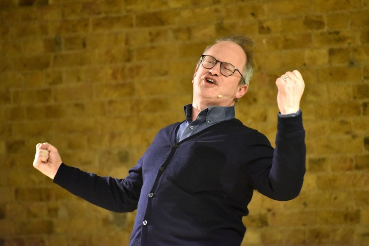 Evening with Robin Ince at Festival of Literature 2019