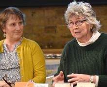 Writing for Children Panel Pippa Goodhart & Rosemary Hayes