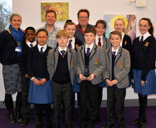 Prep School Poetry declamation finalists with Paul Cookson & Steve Skidmore