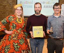 Picture Book Award winners 2019 with Sarah McIntyre