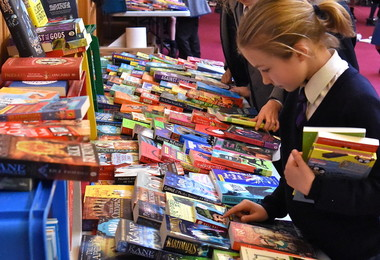 Prep School book fair in FLT 2019