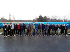 Upper Sixth Form Physicists at CERN 2019