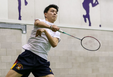 College pupils face Felsted in Badminton Match Jan 19