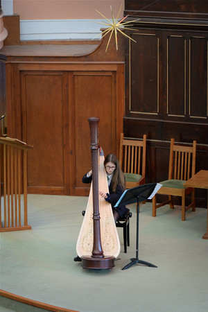Harp and Bassoon Recital in URC February 14 2019