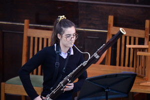 Recital with harp and bassoon in United Reformed Church